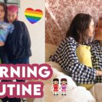 6AM Couples Morning Routine 💕    Lesbian Couple ☀️👭   Laura and Ami